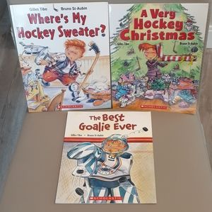 Hockey Book Bundle- Beautiful storybooks